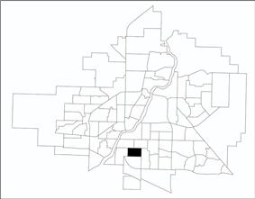 Queen Elizabeth location map