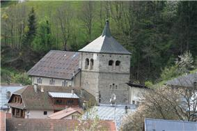 The church in Queige