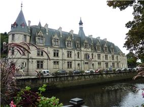 Prefecture building of the Finistère department, in Quimper