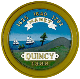 Official seal of Quincy, Massachusetts