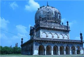 The tombs of the former rulers of Hyderabad