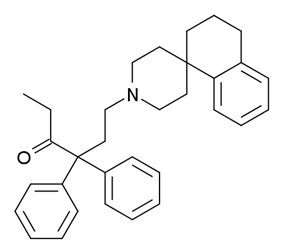 Chemical structure of R-4066.