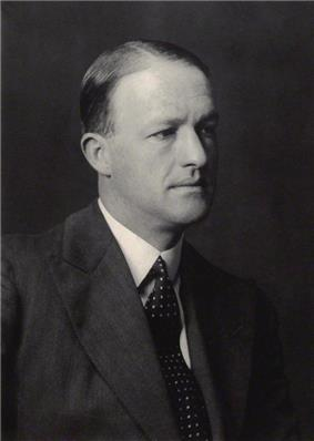 A photograph of R A Butler
