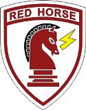 RED HORSE emblem