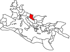 Location of Pannonia