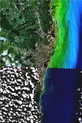 Location of Recife Metropolitan Area
