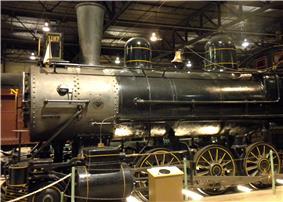 Consolidation Freight Locomotive No. 1187