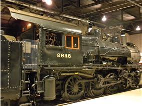 Consolidation Freight Locomotive No. 2846