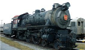 Passenger Locomotive No. 460