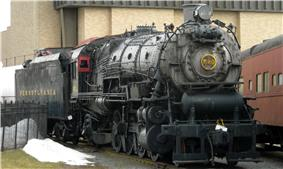 Mikado Freight Locomotive No. 520