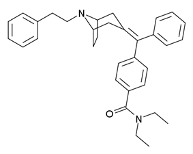 Chemical structure of RWJ-394,674.