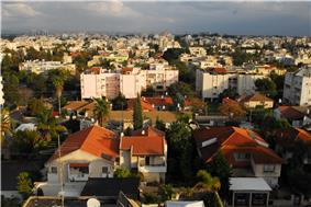 Panorama of Ra'anana
