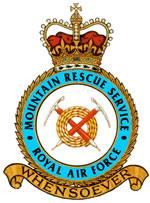 Official Crest of the Royal Air Force Mountain Rescue Service
