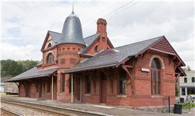 Baltimore and Ohio Railroad Station, Oakland