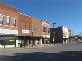 Railroad Avenue downtown