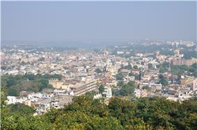 Ranchi skyline