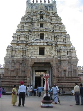 Ranganatha temple, a major tourist attraction