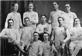 The 1877 Scottish Cup Final Rangers team