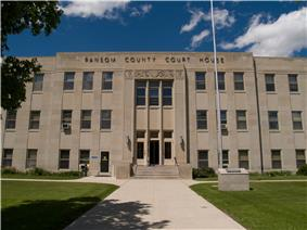 Ransom County Courthouse in Lisbon