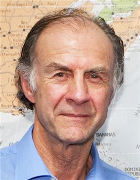Sir Ranulph before presenting to Cambridge University