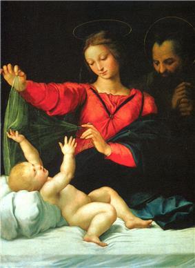 Madonna and Christ Child.