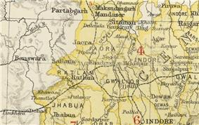 Location of Ratlam