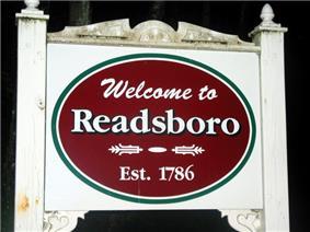 Sign outside Readsboro