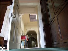 View of main corridor