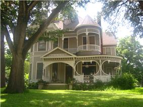 Historic Reeves-Womack House in Caldwell