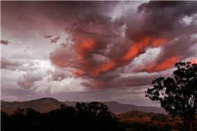 The clouds are children of Tāwhirimātea.