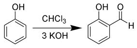 The Reimer-Tiemann reaction
