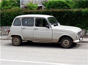 Renault 4, Croatia.
