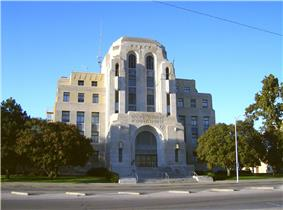 Reno County Courthouse in Hutchinson