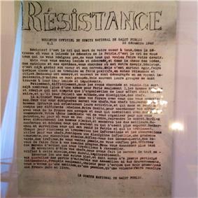 First underground paper, Resistance