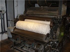 Restored carding machine