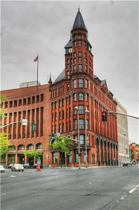 The Spokesman-Review building