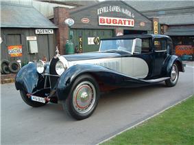 Bugatti Royale Coupe De Ville Binder