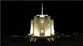Rexburg, Idaho LDS Temple.