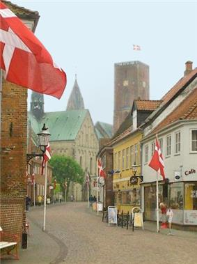 The main street of Ribe