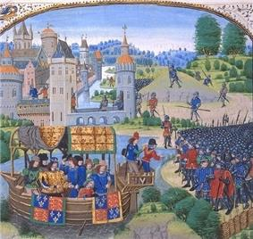 Painting of Richard II