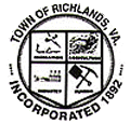 Official seal of Town of Richlands, Virginia