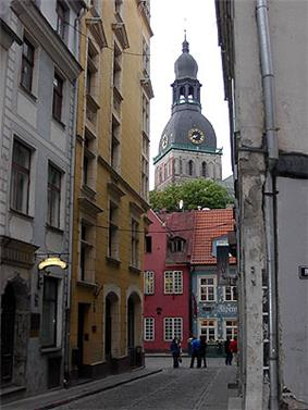 The Old Town of Riga