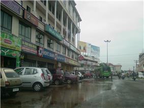 Town Street after a monsoon shower