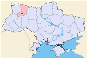 Location within Ukraine