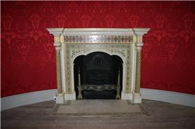 Robert Adam fireplace, Round room, Strawberry Hill.jpg