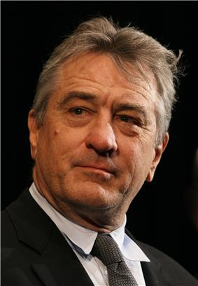 Photo of Robert De Niro at the 43rd Karlovy Vary International Film Festival in 2008.