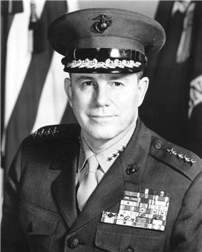 black & white photograph of Robert Everton Cushman, Jr.