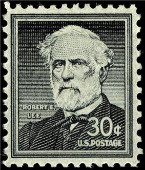 Robert E. Lee stamp, Liberty Issue of 1955