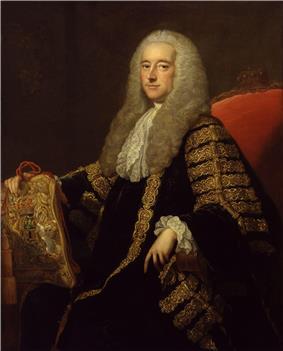 Robert Henley, 1st Earl of Northington by Thomas Hudson