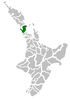 Location of Rodney District